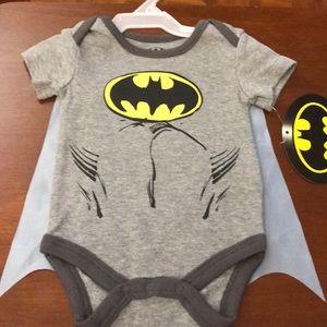 Batman baby onesie with a detachable cape!!!!